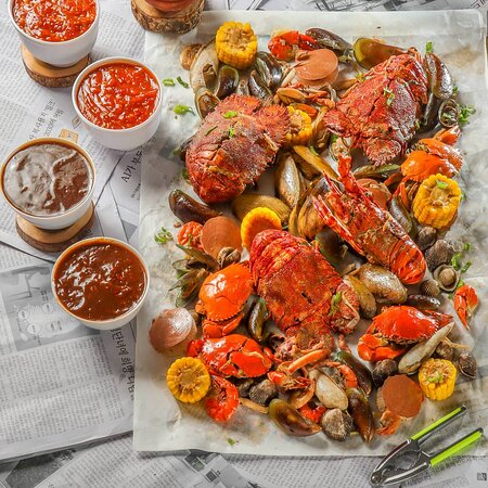 Seafood ngamprah sultan 360.000 (Super complete)
