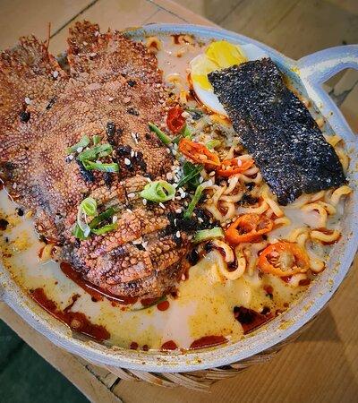 Ramen misho curry 40.000 Tersedia level super pedassss 🔥