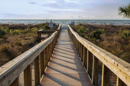 Beach Walkway