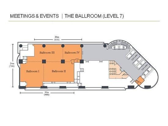 Floor Plan - The Ballroom