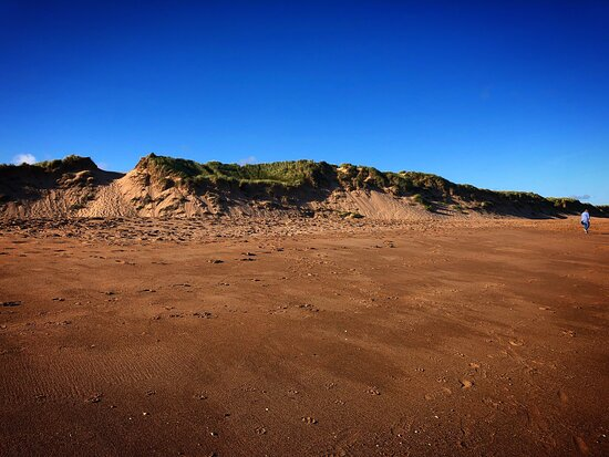 Whenever I come to Aberdeen I always make a point of going to Balmedie beach