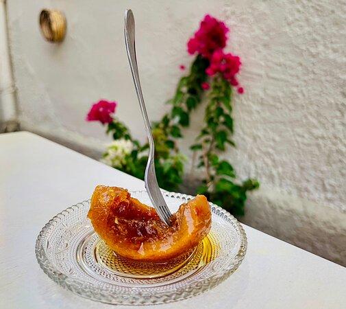 Apelsin med honung