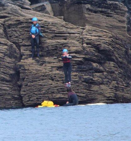 Fabulous coasteering experience