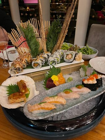 Sushi and steak night, great for a birthday and time with friends. Service fabulous too.