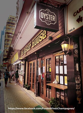 #China 🇨🇳 : #ThéOysterHouse, #HongKong 🇭🇰  #Address: #Shop C, G/F, 154 #JaffeRoad,  #Wanchai #灣仔 #謝斐道