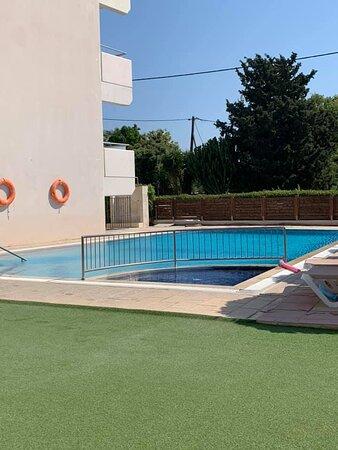 Spotless pool area