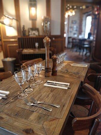 Table restaurant la vieille auberge