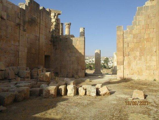 جرش, الأردن: temple of Artemis