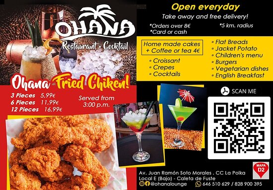Our famous fried chicken