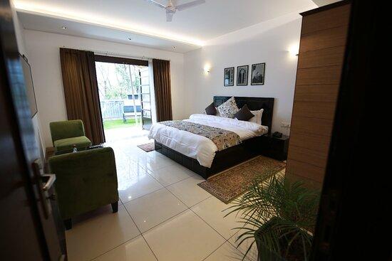 Kasauli, India: Bedroom