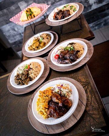 Delicious Caribbean food