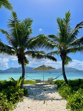 Une des superbes plages du resort