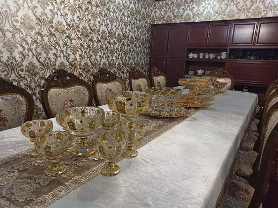 Private dining area for 12 people.