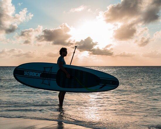Bonaire: Sunset SUP
