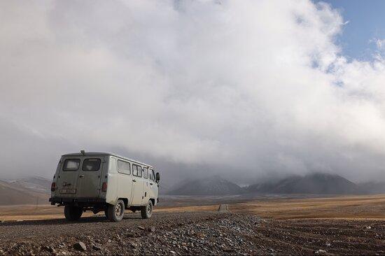 Alquiler UAZ Buhanka: Arabel plateau