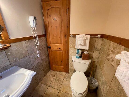 1 King Bed not Riverside - Bathroom