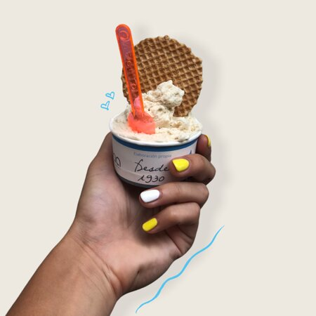 An amazing vegan-friendly place with various flavors of vegan ice cream!