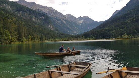 Boote auf dem Jägersee