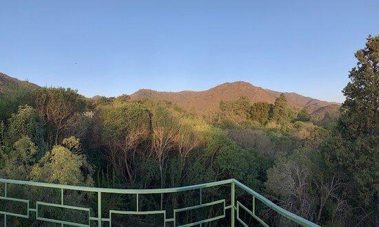 Terraza de la Pileta. Vista a la Reserva Vaquerías.