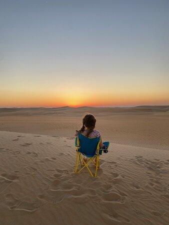 Liwa Desert chillin'.