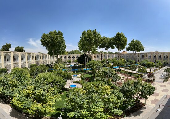 The best Isfahan's hotel atmosphere,old,historical,unique and memorable…