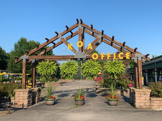 Entrance to Campgrounds