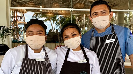 """Absolutely amazing team @Isla Mujeres Palace...great """"my pleasure """" attitude, happy , helpful,always ready to help, thank you AGAIN!"""