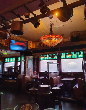 Mly Malones Pub along West Street