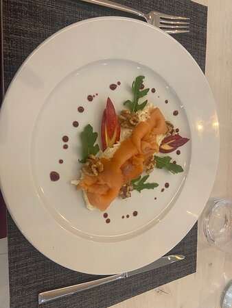 High end food and venue, lovely relaxed service