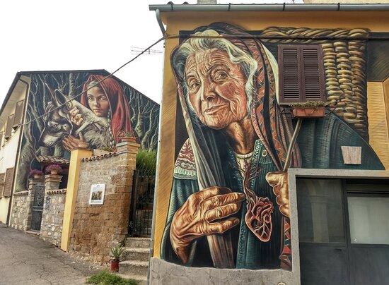 Murales Sant'Angelo di Roccalvecce