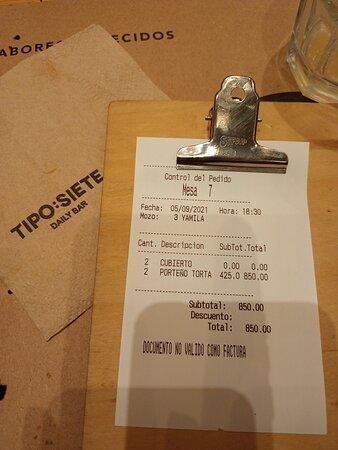 Tipo Siete Cafeterìa: Barrio Palermo, Ciudad de Buenos Aires- Argentina 2021.