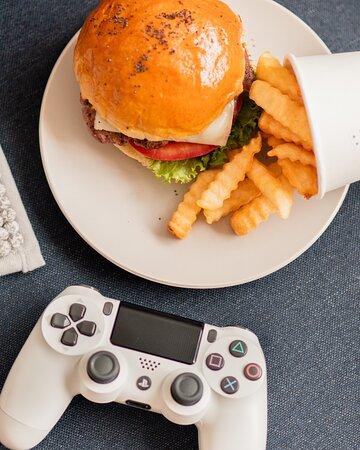 Kersh es un Excel te lugar para comer hamburguesas