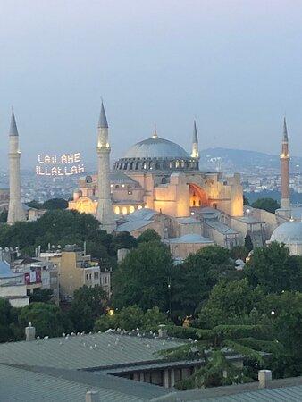 Istambul, Turquia: The magnificent Hagia Sophia mosque.