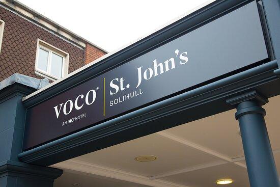 voco St. John's Entrance