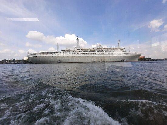 Rotterdam Land and Sea Splash Tour: Nogmaals de SS Rotterdam