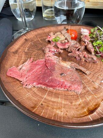 Viande pas cuite que d'un seul côté 😨