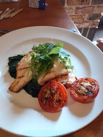 The Trio of Fish - delicious and beautifully presented!