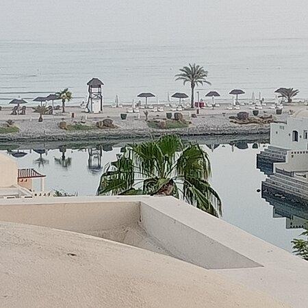 Emirate of Ras Al Khaimah, United Arab Emirates: Вид из нашего номера