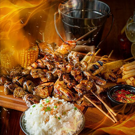 Barbeque Feast good for sharing.