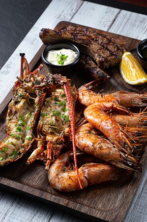 Surf and Turf for all seafood and meat lovers.