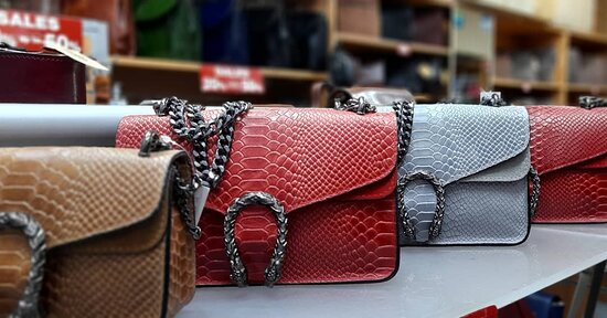 Women's fashion leather bags