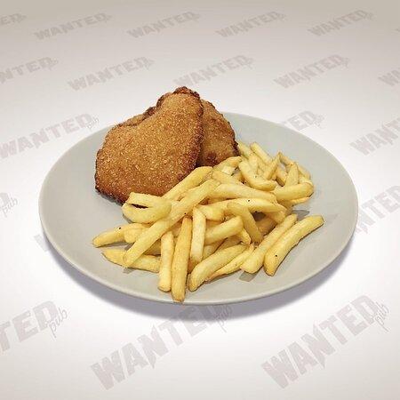 Deep fried chicken breast