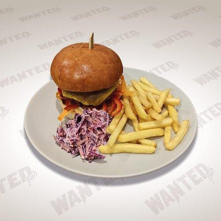 Vegetarian hamburger