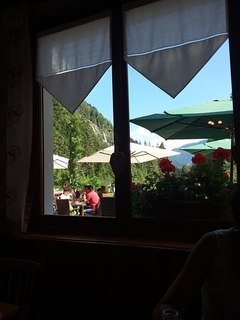 Veduta dal ristorante