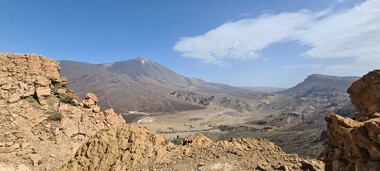 The Wow Factor Walk: View on Mt Teide