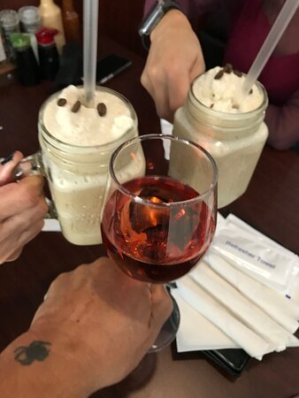 """...our first """"Cheers"""" @ ASAMI'S...."""