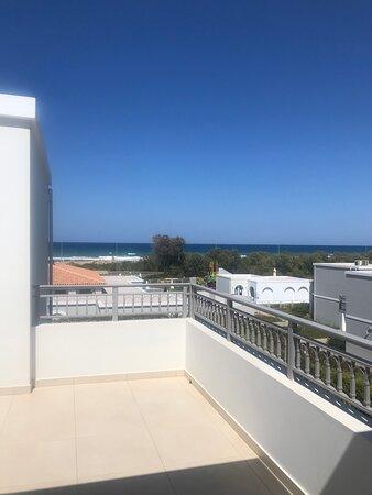 Terrasse chambre deluxe vue mer