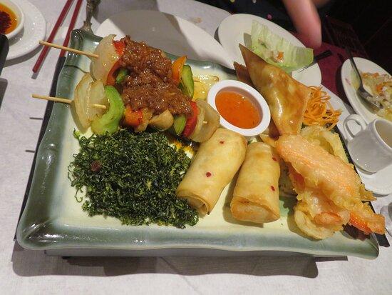 Choi's Restaurant & Takeaway Uppingham Rutland Vegie starter for two