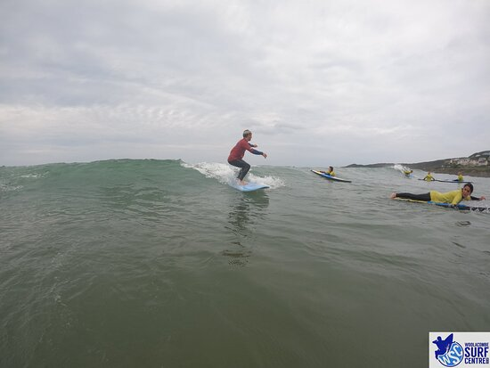 Surf Lesson: Sam just showing off