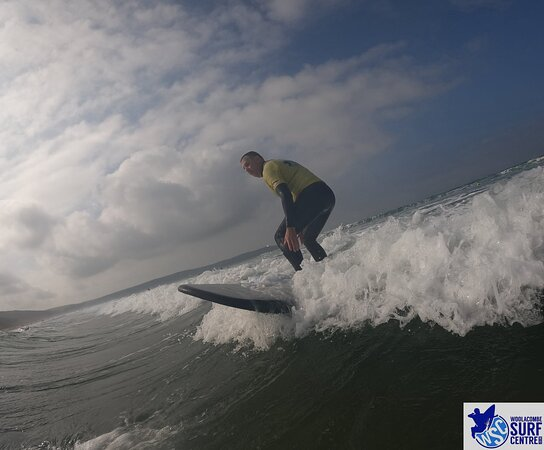 Surf Lesson: Starting to get it